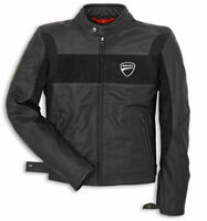 Ducati Black Leather Jacket for Bikers