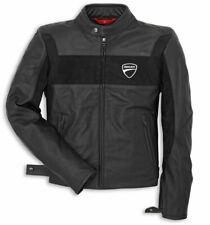 Ducati Black Leather Jacket for Bikers