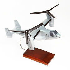 USMC Boeing V-22 Osprey Gray Vtol Stol Desk Top Display 1/48 Model ES Airplane