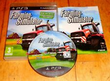 PS3 Farming Simulator Playstation 3 Game VGC FAST FREE UK POST