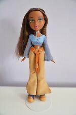 Bratz Strut It Doll Clothing Brown Stripped Turtleneck Sleeveless Top Shirt