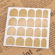 10 fogli di false unghie nastro adesivo. (20 ADESIVI PER FOGLIO).