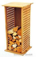 Brennholzregal Kaminholzregal Natur geölt Holzständer Kaminholzständer NEU