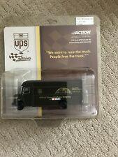NEW ACTION 2001 UPS RACING DIE-CAST TRUCK 1:64 SCALE Package Car. Rare.