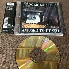 ROGER WATERS Amused To Death PINK FLOYD JAPAN 24k GOLD SBM CD SRCS6766 Torn OBI
