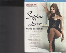 Sophia Loren: Award Collection (Blu-ray/DVD, 2011, 5-Disc Set)