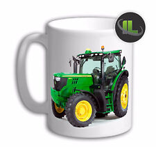 Personalised FARM LAWN TRACTOR Mug Cup. Customise with your own text. FOC. IL742