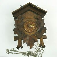 Vintage Schlagabschaltung Cuckoo Clock GERMANY ~FOR REPAIR