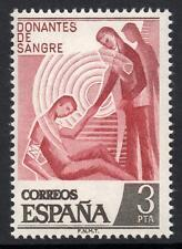 SPAIN MNH 1976 SG2415 Blood Donations