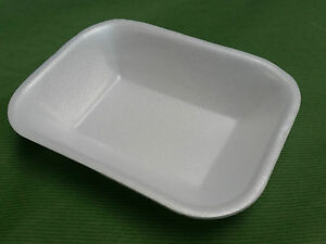 Chipsize Polystyrene Foam Takeaway Trays - Ideal for Chips or Salad