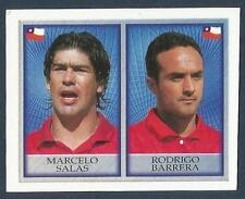 MERLIN-OFFICIAL ENGLAND 1998 WORLD CUP- #206-CHILE-MARCELO SALAS/RODRIGO BARRERA