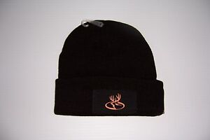 PRIMOS HUNTING BLACK KNIT BEANIE ADULT ONE SIZE FITS MOST WINTER CAP HAT NEW!