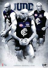 Chris Judd Carlton AFL Individual Player Poster
