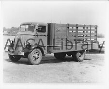 1936 Studebaker 2T233 Flatbed Truck Factory Photo Hahn Roofing Ref. #77939