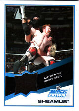 WWE Sheamus 2013 Topps Triple Threat Event Used Shirt Relic Card Black