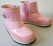 Nike Winter Jogger Boots Small Girls Shiny Pink UK 7 8 9 415222-601 T477