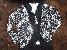 MARKS AND SPENCER AUTOGRAPH  LINEN MIX CARDIGAN SIZE 10