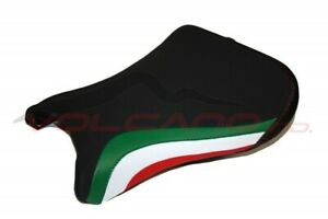 Ducati 748 916 996 998 VOLCANO Design Sattel Abdeckung Anti Scivolo Sitz Schwarz
