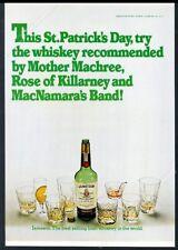 1976 Jameson's Irish Whiskey St. Patrick's Day theme vintage print ad