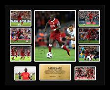 New Sadio Mane Signed Liverpool Limited Edition Memorabilia Framed