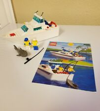 Lego Systems 4011 Cabin Cruiser 100% Complete with instructions & Minifigures