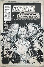 Star Trek Green Lantern V2 #2 IDW DC Comics 2017 Angel Hernandez Variant Cover