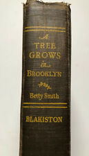 A TREE GROWS IN BROOKLYN by Betty Smith (1943/HC/BLAKISTON Hardcover 1st Edition