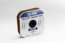 "Uline Velcro Brand Tape Strips Hook and Loop, White, 1⁄2"" x 75' Fasten Reattach"