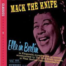 """ELLA FITZGERALD """"ELLA IN BERLIN"""" CD NEW+"""