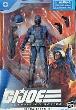 GI Joe Classified Series ~ COBRA INFANTRY ~ Ready To Ship!