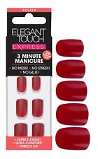 Elegant Touch Express False Nails - Ruby Red (24 Nails)