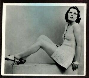 Tobacco Card, Ardath, REAL PHOTOGRAPHS Series 12, Large, 1939, Doris Alvis, #42
