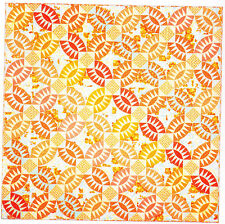 Pickled Orange Peel - foundation paper pieced quilt PATTERN - Emma Jean Jansen