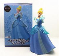 cute Cinderella princess rose PVC figure figures dolls doll toy anime new