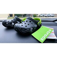 NEW WITH TAGS CROCS  SHOES KIDS SIZE c10 Black