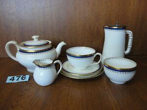 Mintons Bachelors Tea Set - Teapot Water Pot Tea Cup & Saucer Plate Bowl Jug