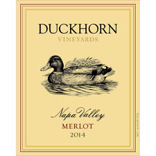 Duckhorn Napa Merlot 2014 Gets a New Price on this Cult Classic **1 BOTTLE**