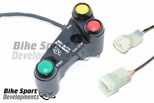kawasaki ZX10 race handlebar switch Stop/Run_Start_Rain light, Brake clamp mount
