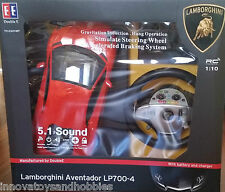 MZ Lamborghini Aventador LP700 1:10 Radio RC Car Steering Wheel Sound  Brake