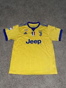 Adidas Mens Juventus Saldana #10 soccer football Jersey Climacool Size Large VTG