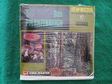 3x VIEW MASTER 3D REEL*PFLANZENREICH WISSENSCHAFTSERIE BOTANIK*B6801/2/3 /B680d