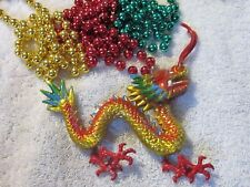 "Realistic Looking ""Dragon"" Mardi Gras Bobble Bead Animated Fantasy (B652)"