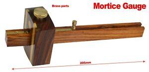 High Quality Mortice Marking Gauge Carpenters Woodworking Tool Brass Door