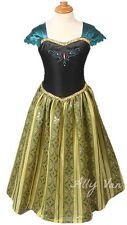 FROZEN Anna long Coronation dress stunning and comfortable, Christmas, Xmas