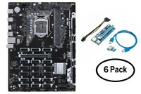 ASUS B250 Mining Expert Motherboard with 6 x Rosewill PCI-e Riser Cable Adapters