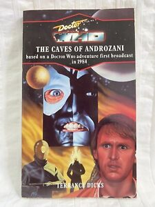 DOCTOR WHO - The Caves Of Androzani PAPERBACK Target #92 1992 Terrance Dicks