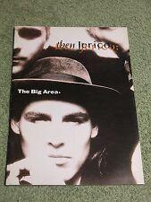 THEN JERICO the big area 1989 UK & EUROPEAN Tour Programme!
