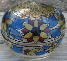 -Flacon Verrerie émaillée à décor arabisant Bohemian Glass Box