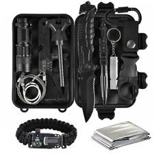 11 Stück Camping Taktik Selbstverteidigung Notfallwerkzeug Überlebensausrüstung