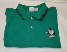 Vintage 1995 Looney Tunes Tasmanian Devil Golf Shirt Size Xxl Kelly Green Issues